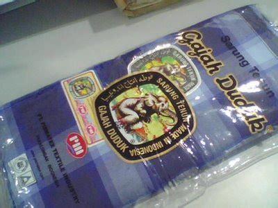 Harga Sarung Cap Gajah Duduk Asia pouch note 2009 12 27