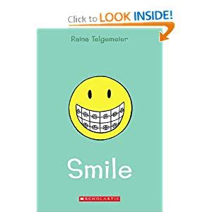 For A Smile Read The by Smile By Raina Telgemeier The Reading Zone
