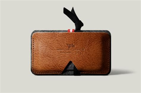 Handmade Italian Leather Wallet - graft wallets aw 2012 thecoolist the modern