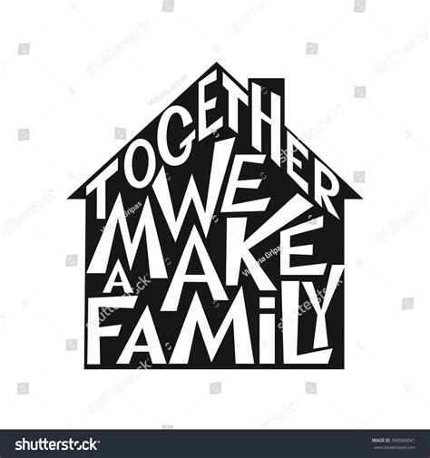 typography quotes vector typography poster inspirational family wedding typography stock vector 390980041