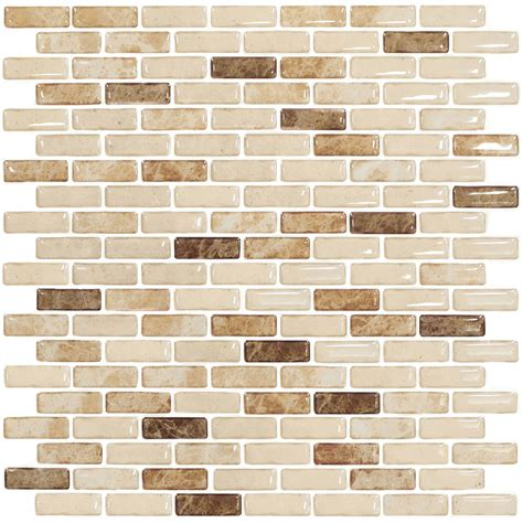 stick on kitchen backsplash tiles art3d 12 quot x 12 quot peel and stick backsplash tiles for