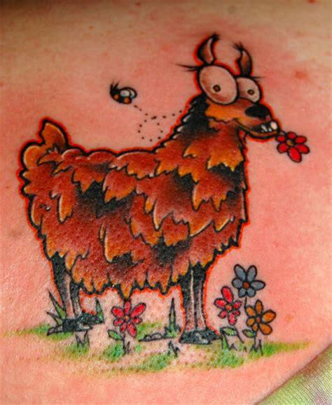 llama tattoo llama
