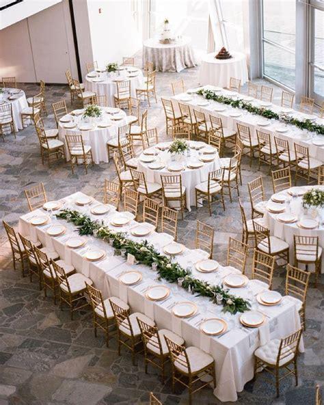 reception décor photos low white hydrangea centerpiece at round