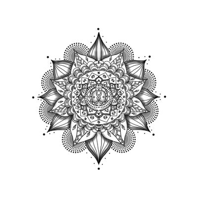tattoo geometric png mandala tattoo multiple transparent png stickpng