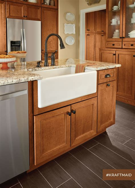 This farmhouse kitchen sink base represents just one of
