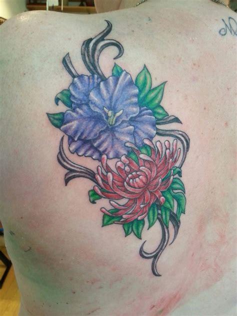 august flower tattoo best 25 august birth flowers ideas on