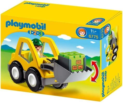 Playmobil 1 2 3 Excavator by Playmobil 6775 1 2 3 Excavator φορτωτης Playmobil Epi