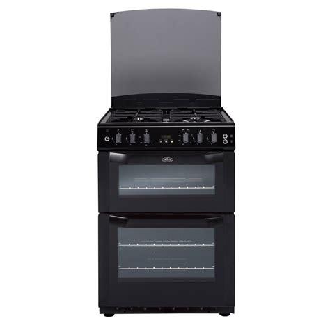 Oven Gas Lpg belling fsg60doflpgb 60cm gas cooker in black oven lpg