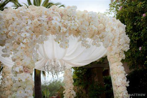 Flower Garden Wedding Rancho Valencia Garden Wedding Ceremony