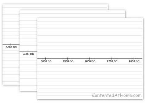 Make Your Own Timeline With These Free Printable Timeline Timeline Maker Free Printable