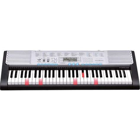 casio keyboard light up keys casio lk 220 61 key lighted note portable keyboard lk 220 b h