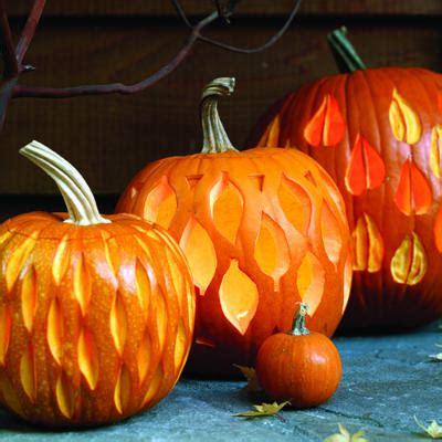 leaf pattern pumpkin carving 7 pumpkin carving ideas blogher