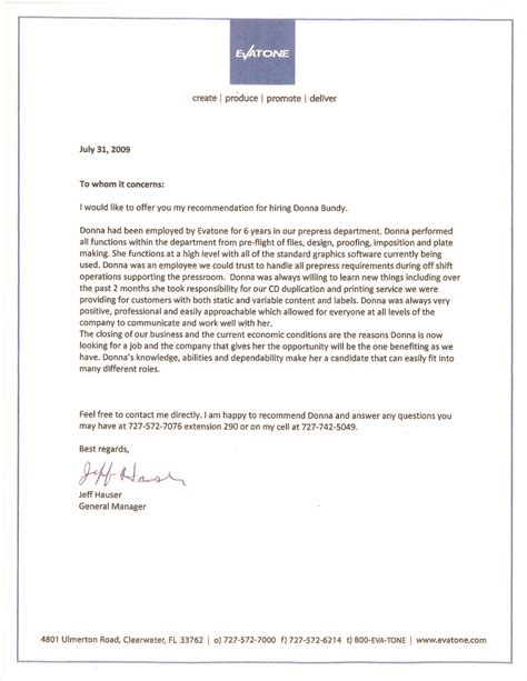 Letters Of Recommendation Dmb Graphic Web Designer