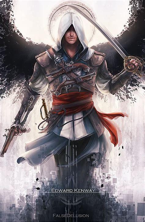 Assasin Creed Unity Jepang Gaming Kaosraglan 7 assassin s creed edward by falsedelusion on deviantart assassin s creed