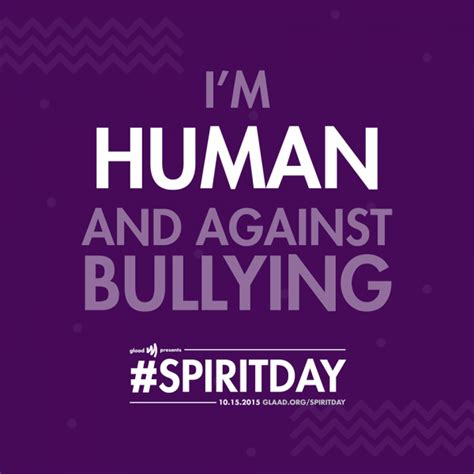 Celebrate Spiritday by Celebrate Spirit Day Take A Stand Against Bullying Out