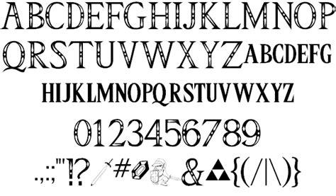dafont zelda image gallery triforce font