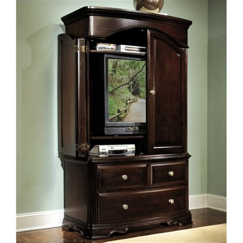 cherry tv armoire furniture gt entertainment furniture gt entertainment center