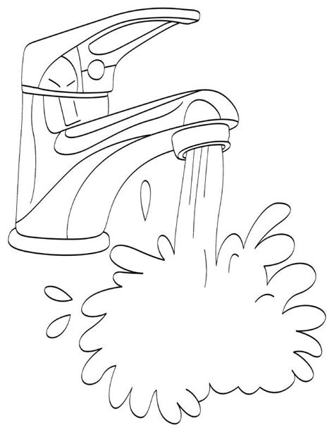 water treatment coloring page water coloring pages printable water coloring page pages