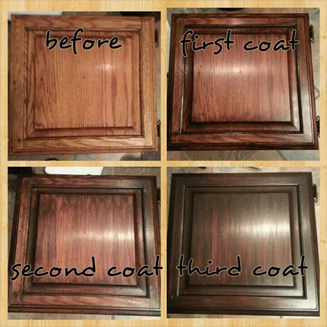 staining unfinished kitchen cabinets 1000 ideas about java gel stains on pinterest gel stain cabinets staining kitchen cabinets