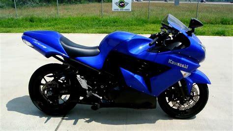 Kawasaki Blue by 2006 Kawasaki Zx 14 Moto Zombdrive