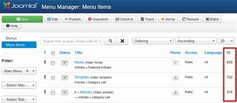 menu design joomla how to add icons to your joomla menu items