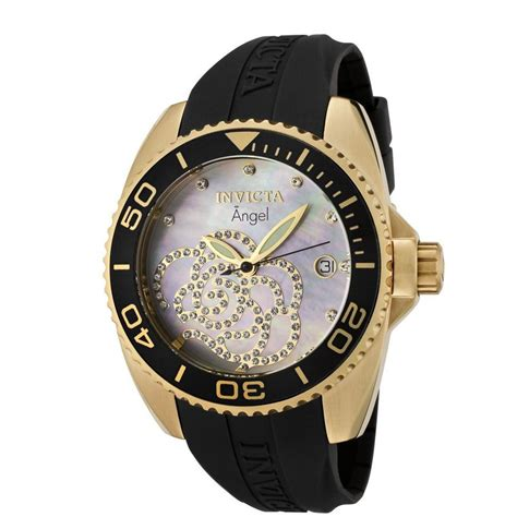 mens gold watches invicta watches quartz