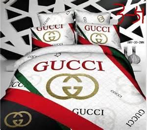 Gucci Bedding Replica Gucci Bedding Sets 4pcs 131892 Express Shipping