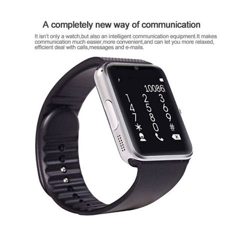 Smartwatch Onix Gt08 onix cognos jam tangan pria silver rubber smartwatch gt08 lazada indonesia