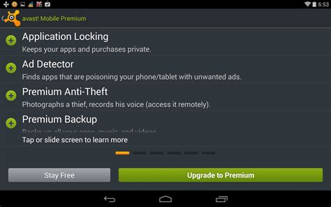 antivirus for tablet android free avast antivirus for android tablet free forum