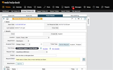free help desk solutions help desk ticketing software asset management solarwinds