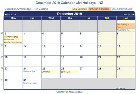 printable december 2015 calendar nz print friendly december 2019 new zealand calendar for printing