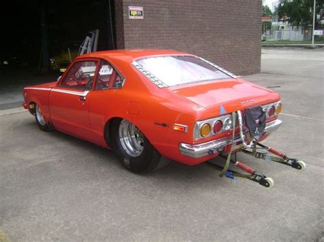 stock turbo cars nsw mazda rx3 coupe turbo 383 chassis drag
