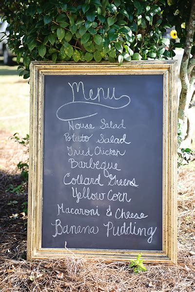Similiar Southern Wedding Reception Menu Ideas Keywords