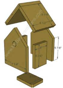 simple bird house plans bird house plans on rustic birdhouses