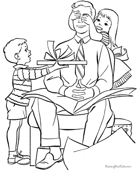 our father for children coloring pages