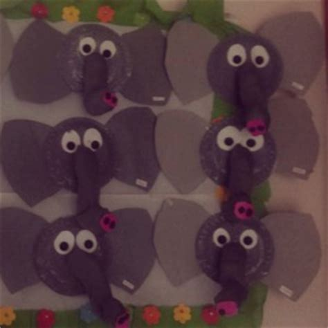 Paper Plate Elephant Craft - paper plate animals craft crafts and worksheets for