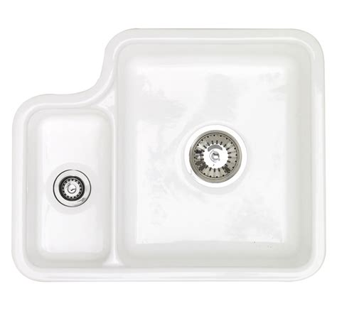 Undermount Ceramic Kitchen Sinks Astracast Lincoln 1 5 Bowl Ceramic Undermount Kitchen Sink Ln15whhomeskl