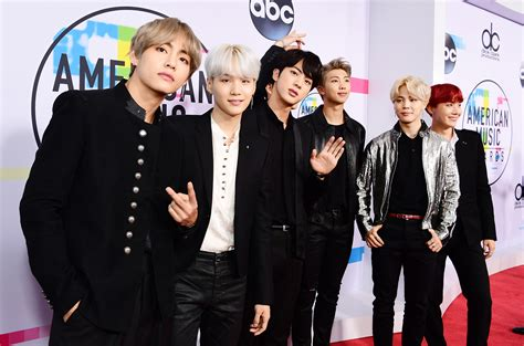 bts ama bts at the 2017 amas what they said on the red carpet