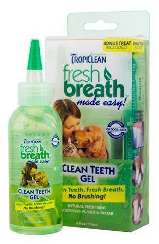 tropiclean fresh breath  clean teeths gel  dogs