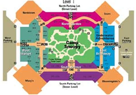 moa map mall of america map my