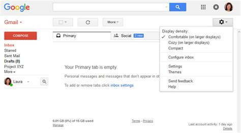 themes for gmail page how to customize your gmail interface look with themes