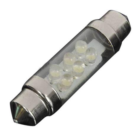 Led Car Interior Light Bulbs by Car Interior Dome 6 Led Bulb Light White L 36 Mm