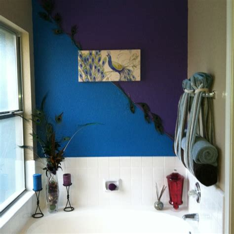 peacock bathroom ideas peacock bathroom wall bathrooms pinterest
