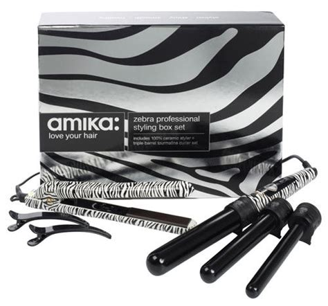 100 Ceramic 1 25 Pro Styler by Hair Styling Tools Amika Professional Styling Box Set