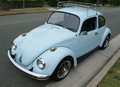 blue volkswagen beetle 1970 1969 vw bug custom car interior design