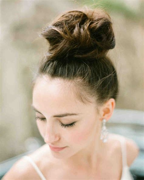 modern wedding hairstyles for the cool contemporary martha stewart weddings