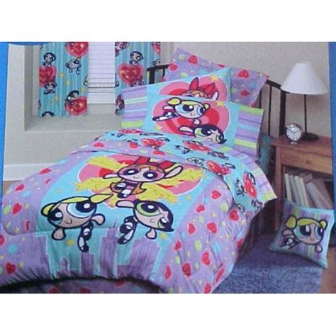girls full bedding amazon com powerpuff girls powerperfect full size