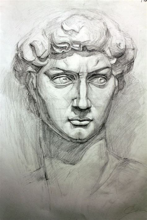 michelangelo sketches google search portraits for