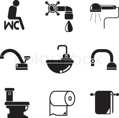 bidet bedeutung wc und sanit 228 r symbole vektorgrafik colourbox