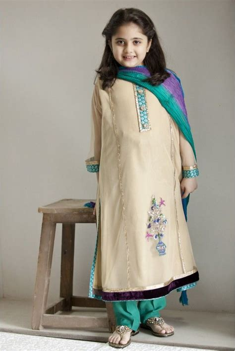 pakistani dress designs  girls maria  kids